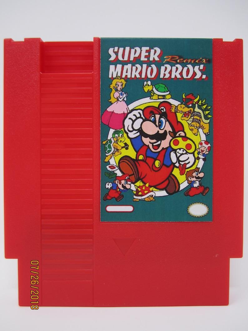 Super Mario Bros Remix Nintendo NES Multi Cart Rom Hacks 3 Mix Unlimited  Extra