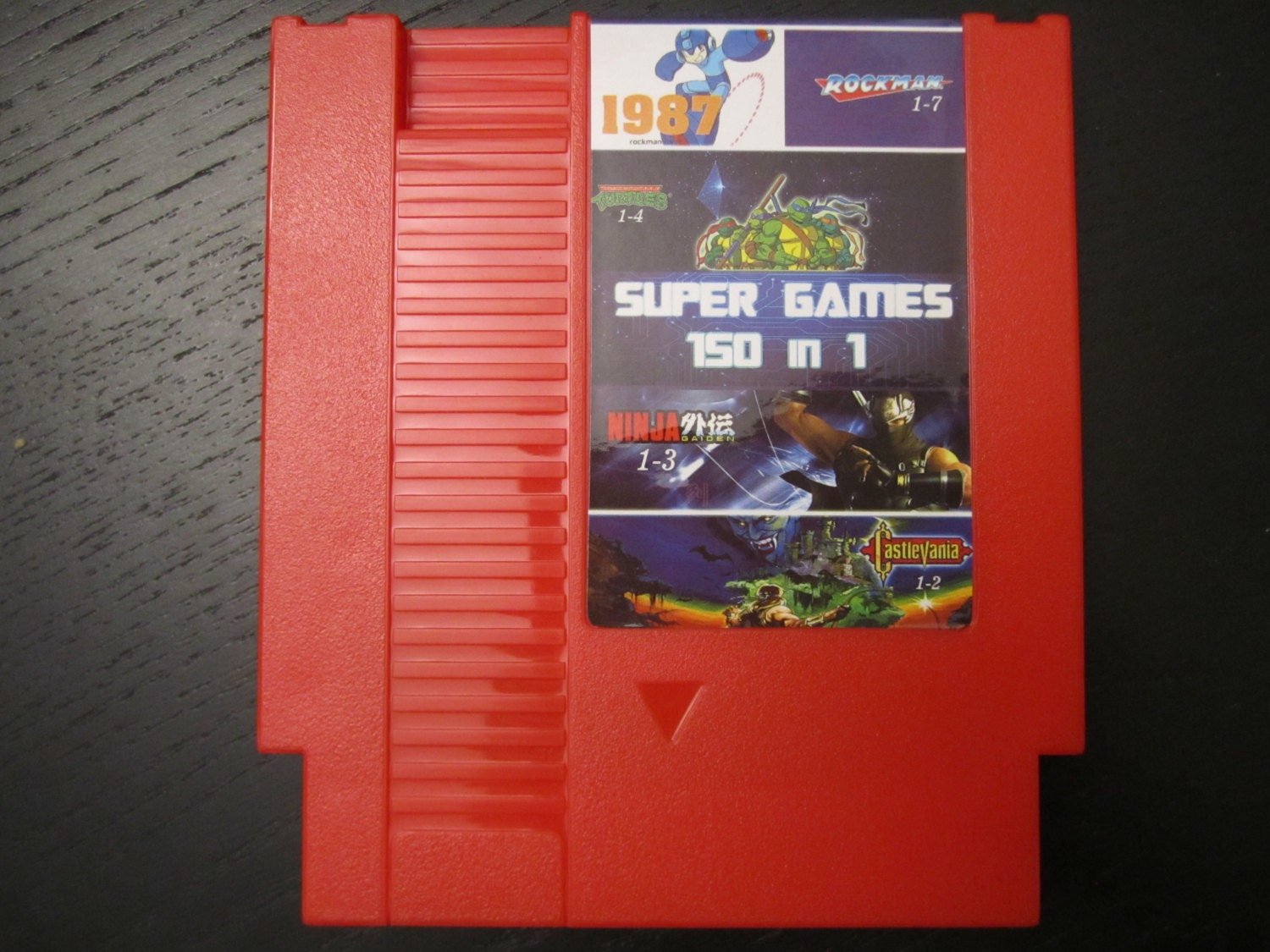 Super Games 150 in 1 Multicart Cartridge for Nintendo NES Tons | Etsy