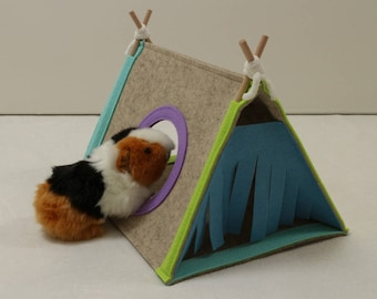 Guinea Pig House Hedgehog Hideout Pet Small Tent Guinea Pig