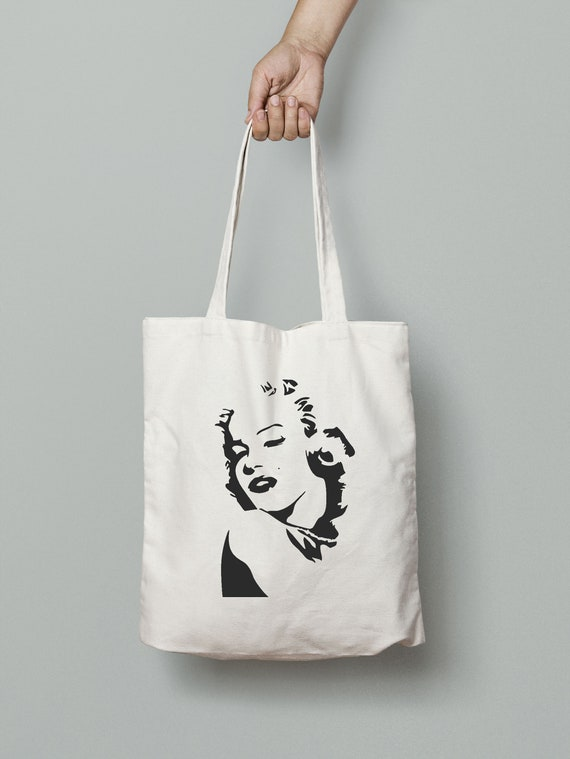 Marilyn Montoe Tote Bag