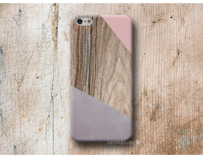 pink Wood print Phone Case Cover Skin for iPhone X XS MAX XR 8 7 6s 6 Plus  se 5s 5 5C 4 4s iPod 5 6 cases
