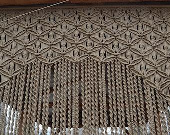 Macrame handmade door curtains
