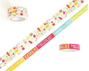 Fitness Washi Tapes by Recollections™