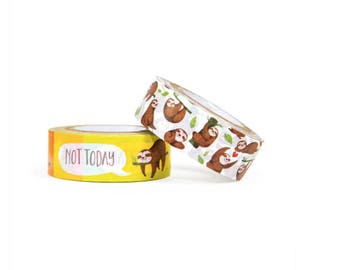 Sloth Washi Tapes By Recollections™ S2