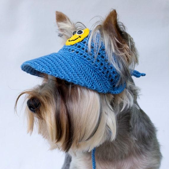 Casquette de Baseball de chien Smiley chien visière   Etsy 57c690f22358