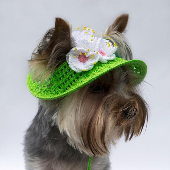 Sombreros de perro perro gorros sombreros para protegerse  2564b951545