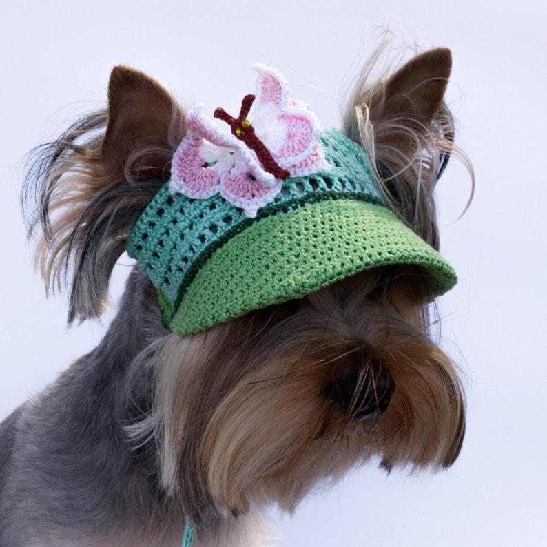 22d32be12 Dog Cap Butterfly/Czapka baseballowa dla psa/Czapka na daszek   Etsy