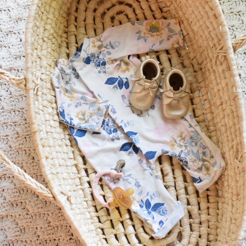 newborn girl snap romper coming home outfit baby girl coming image 0
