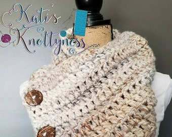 Luxe Chunky Boston Cowl **FREE US Shipping**