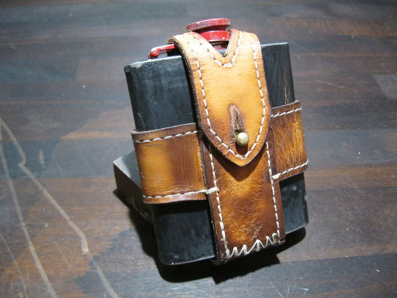 Flachmann in holster image 0