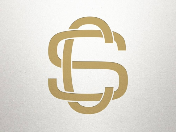 Interlocking Letters Logo Cs Sc Interlocking Letters Digital