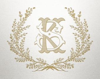 Laurel Wreath Design  - Thomaston Laurel -  Laurel Wreath - Digital