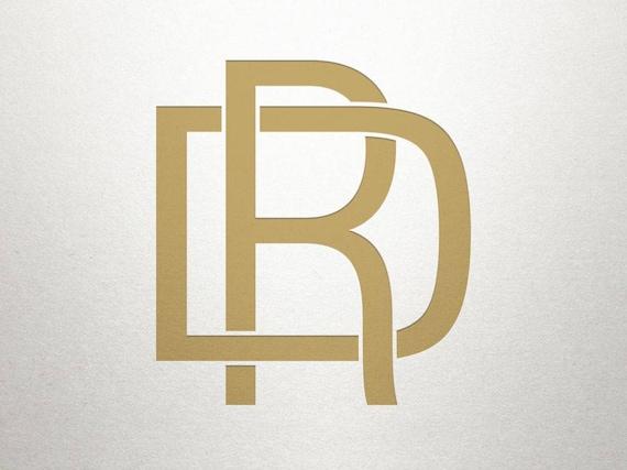 interlocking logo design dr rd interlocking logo digital
