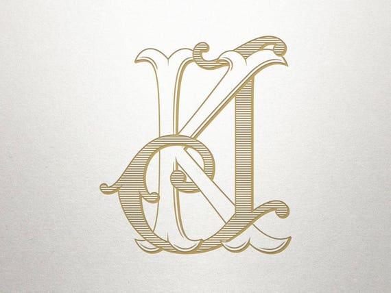 antique monogram alphabet jk kj antique monogram digital