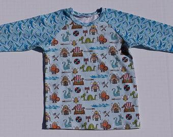 Kids Viking Raglan Shirt