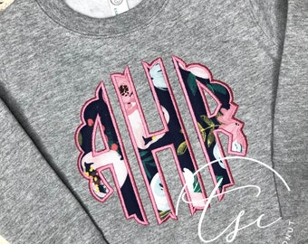 Toddler Youth Hoodie Personalized Monogrammed Appliqued