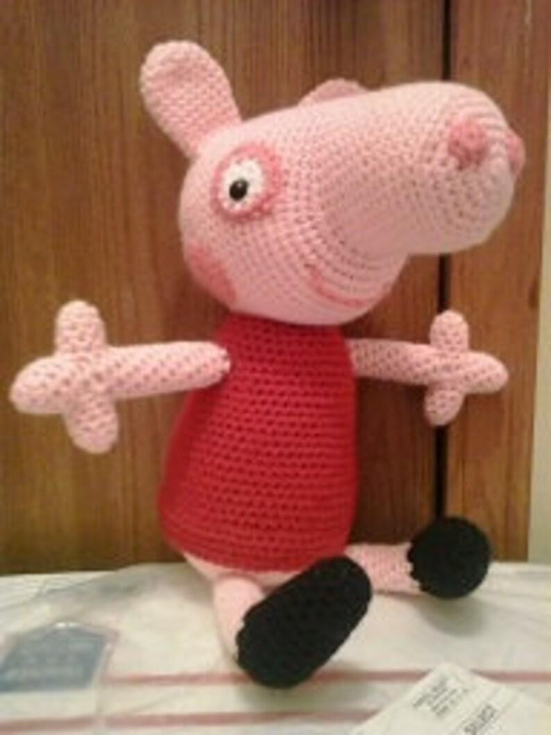 Los Amigus de Paloma: Peppa Pig Amigurumi (Patrón Gratis)   1059x794