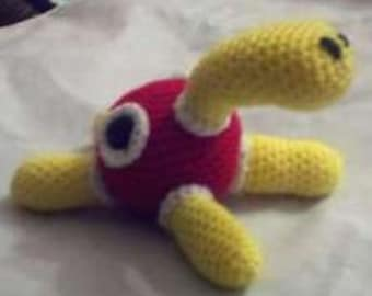 213 Shuckle Pokemon Amigurumi Plush