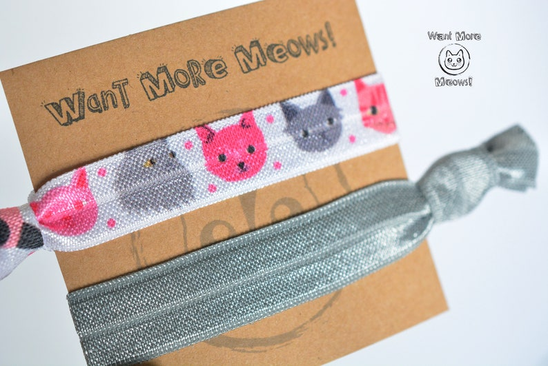 Cat Hair Ties Gifts Under 5 Stocking Stuffer Lover