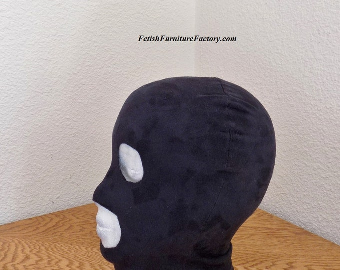 Mature: BDSM Mask Hood, Dungeon, Domination, Submission, Bondage Clothes, Sex Clothes, BDSM Toys, Sex Toys, Dungeon Hood, Dungeon Mask.