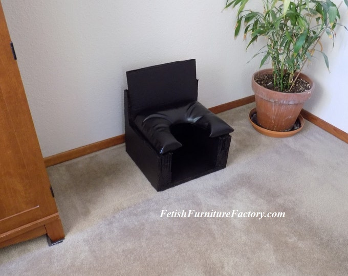 Mature: Smother Box for Facesitting. BDSM FemDom Oral Sex, Queening Chair. Sex Toy, Rim Seat, Sex Chair, Kinky, Do It Yourself Instructions.