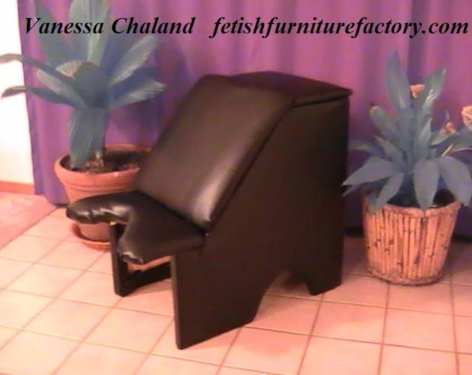 Mature: Facesitting Chair, Oral Sex. Face Sitting Stool, FemDom, Fetish Sex Chair, Dungeon, Hotwife, Cuckold, Do It Yourself Instructions.