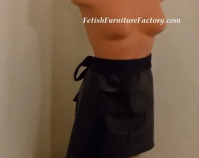 Mature: BDSM Apron for Chastity, Forced Feminization, Humiliation, Spanking, Crossdressing, Sissy Training, Spanking Skirt, French Maid, Sex