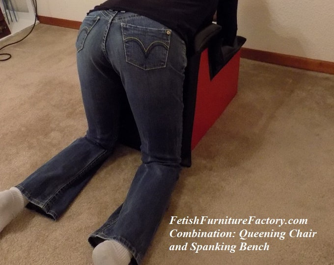 Mature: Sex Furniture, combination Smothering box, Spanking Bench, Sex bench for face sitting, caning, spanking or other BDSM acts. Fetish