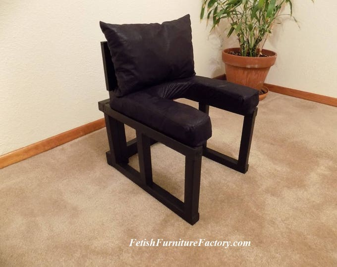 Mature: FemDom Oral Sex Chair. Queening Chairs, Smother Box. Rim Seat, Face sitting Chair, BDSM Sex Furniture, Do It Yourself Instructions.