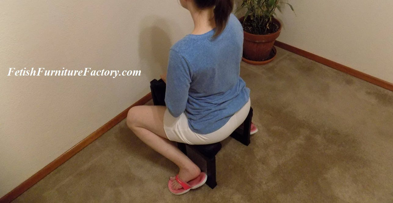 Mature: FemDom Oral Sex Chair. Queening Chairs, Smother