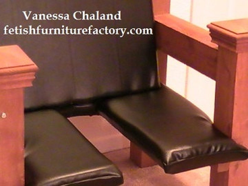 Mature Bondage Sex Chair Bdsm Furniture For Femdom Queening Etsy