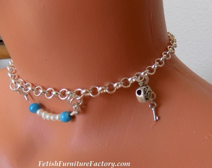 Mature: Hotwife Anklet, Hotwife Charms, BDSM Jewelry, Sexy Jewelry, Cuckold, Female Domination, Dungeon, Swingers, Munch, Hotwife Jewelry