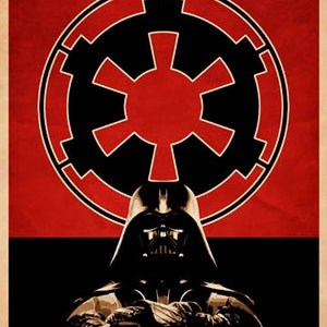 Star Wars Sith Propaganda Poster Print Destroyer