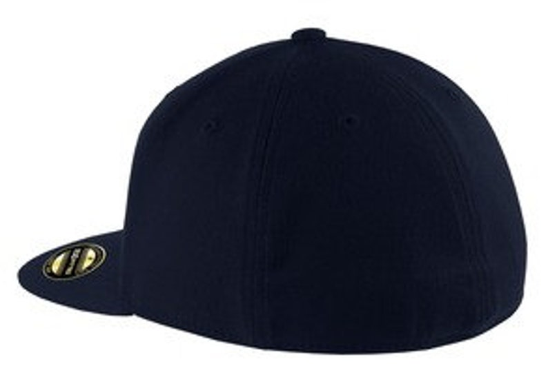 Flex Fit Flatbill Cap with custom embroidered front