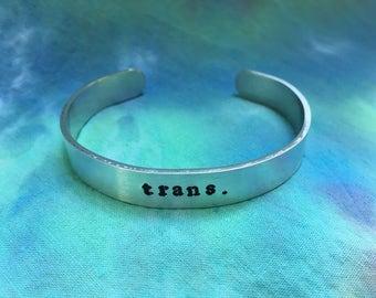 Trans Bracelet - Transgender Bracelet - FTM Bracelet - MTF Bracelet - Nonbinary Bracelet - Genderfluid Bracelet