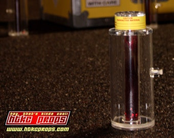 """Plutonium Canister inspired by """"Back to the Future"""""""