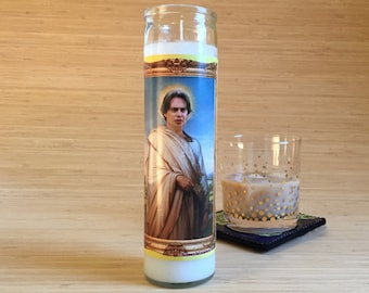 Big Lebowski Donny Celebrity Prayer Candle - Steve Buscemi - Movie Decor - Humor - Parody Art - 7 Day Candle