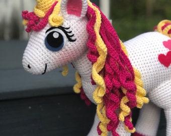 PATTERN Unicorn PATTERN Crochet Unicorn