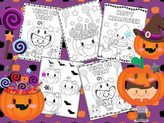 Editable Halloween Pumpkin Party Coloring Pages  The Crayon