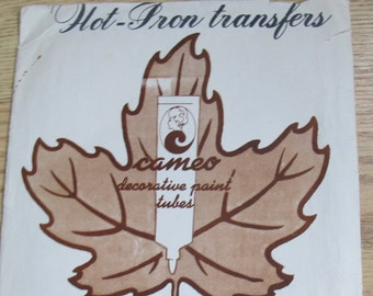 Pillowcase Designs Hot iron transfers / Cameo Hobby Products Embroidery transfers / Cameo decorative painting transfers