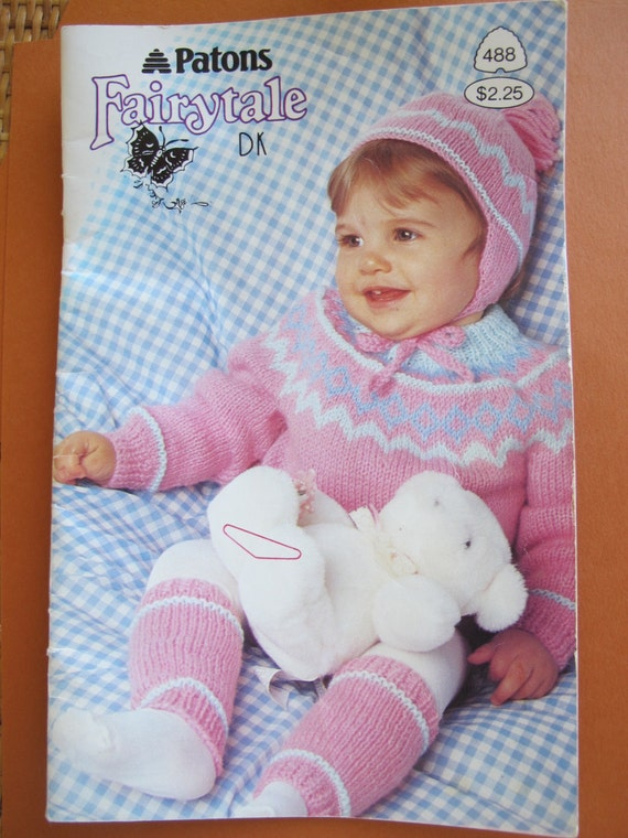 af973c0349f0 Patons Fairytale DK   Toddler knitting patterns   Boy and girl