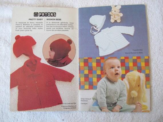 Hübsches Baby Bienenstock / Patons Bienenstock Buch Nr. 420