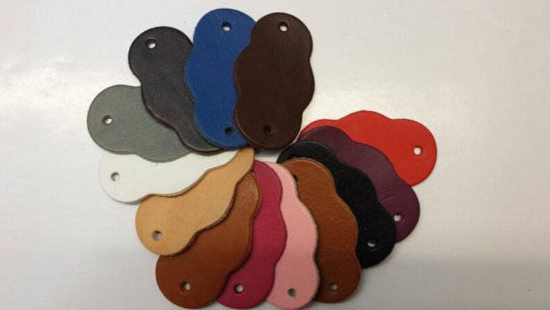 Beautiful Hand Made Medium  Large Plain Leather Dog Harness