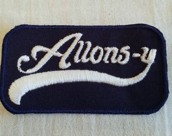 """Tenth Doctor """"Allons-y"""" Patch"""