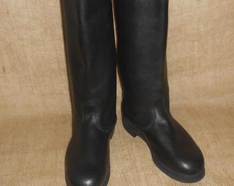 Vintage boots,Kersey boots vintage boots EU 43,US 10 soviet boots,size 42