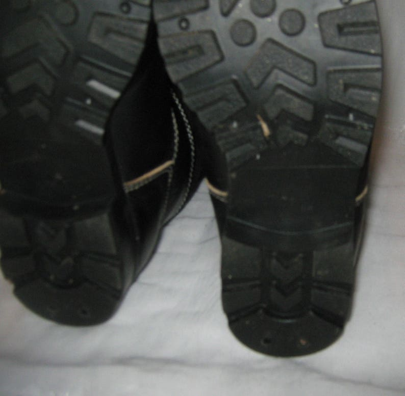 Vintage  winter felt boots  size 42 EU 43, US 9