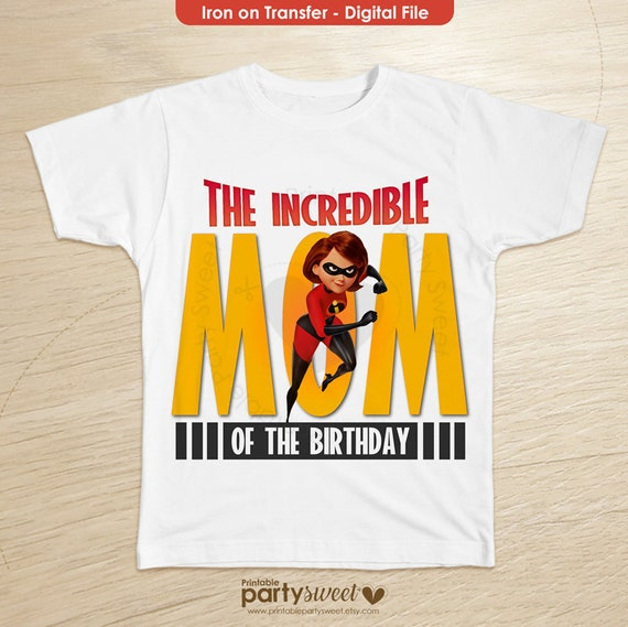 Incredibles 2 Birthday Shirt Mom Family Shirts