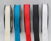 100% Cotton Twill Tape in Red, Black, White, Cream, Hot Pink, Yellow, Navy or Kingfisher Blue - Perfect for Apron Straps - 2.5cm Wide