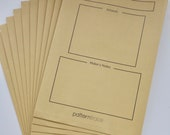 Pattern Archive Storage Envelopes for Sewing Room Organisation - Pack of 10!