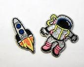 Glitter Spaceman/Silver G...